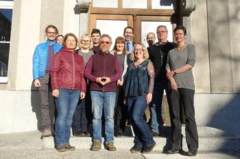 Die Steuerungsgruppe der COST-Action Land4Flood. Foto: A. Schindelegger